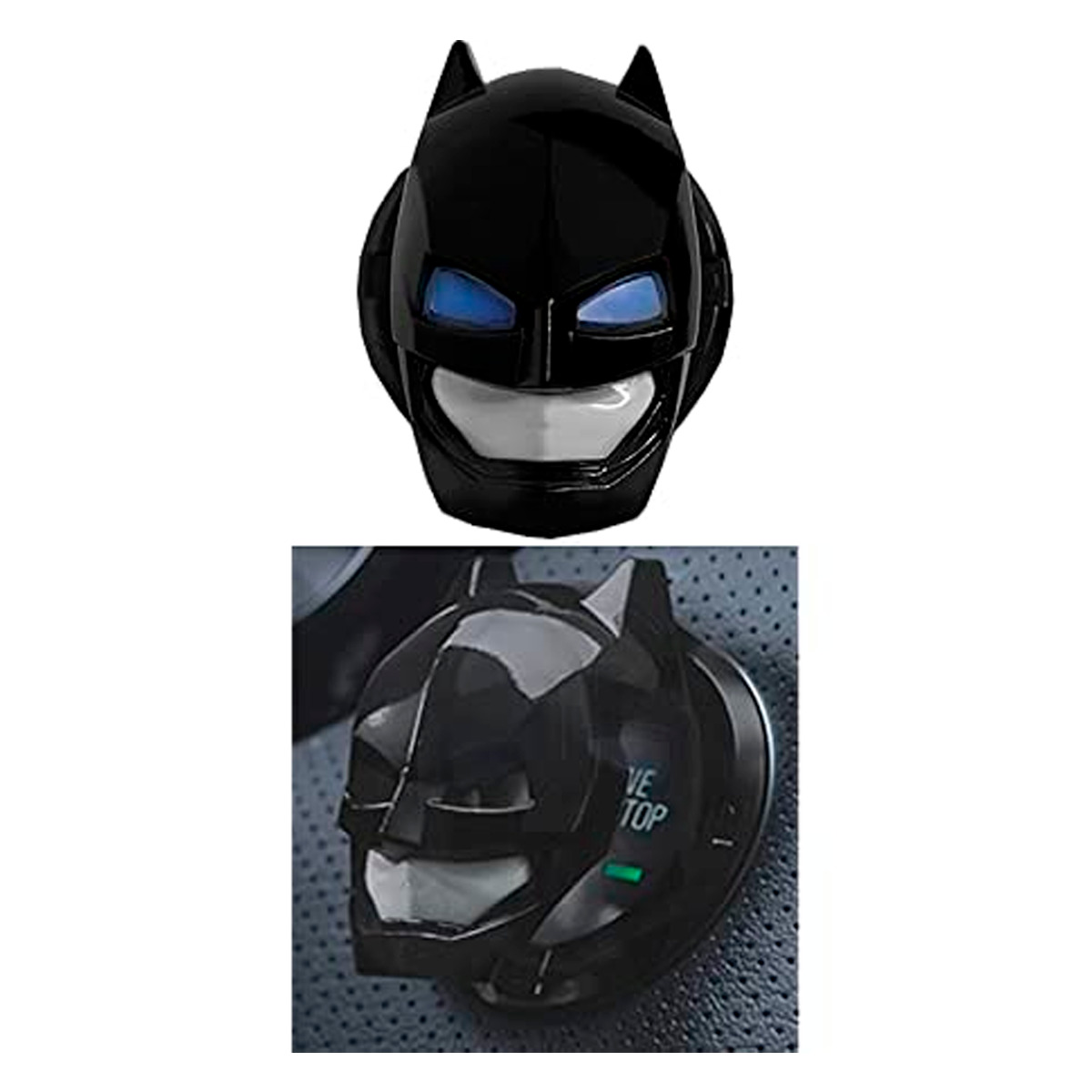 Protector Para Botón Encendido Batman Plástico