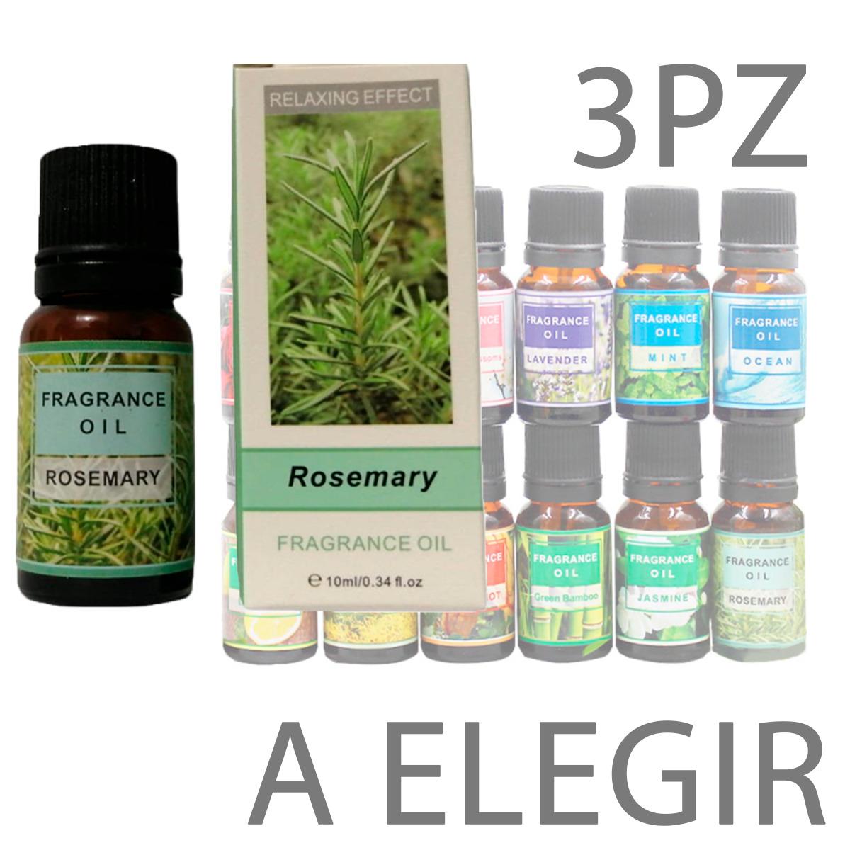 Esencias Aromaticas Aceite Para Difusor Humificador Oil 3p