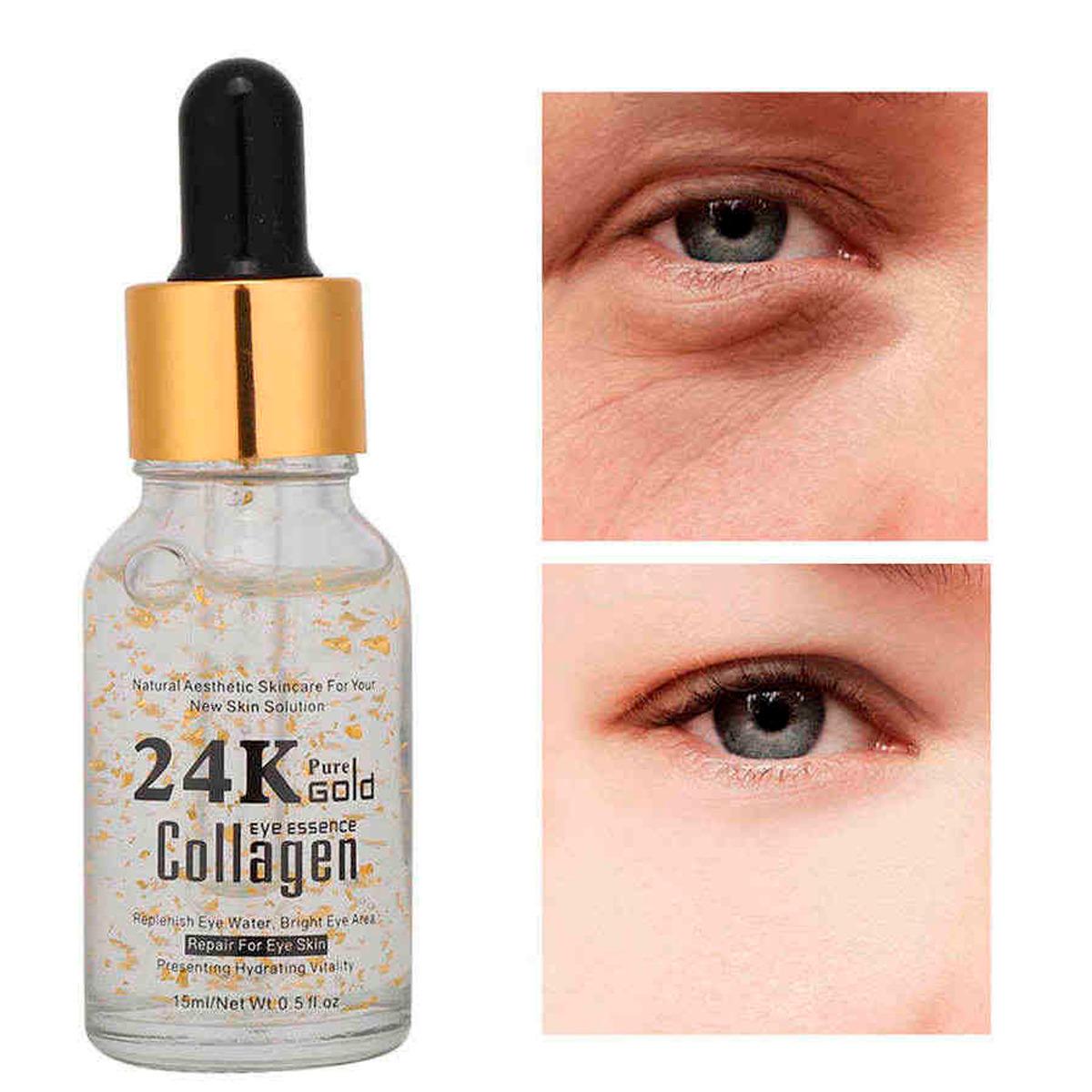 Serum Guanjing 24k Colágeno Hidratante Antiarrugas Ojos