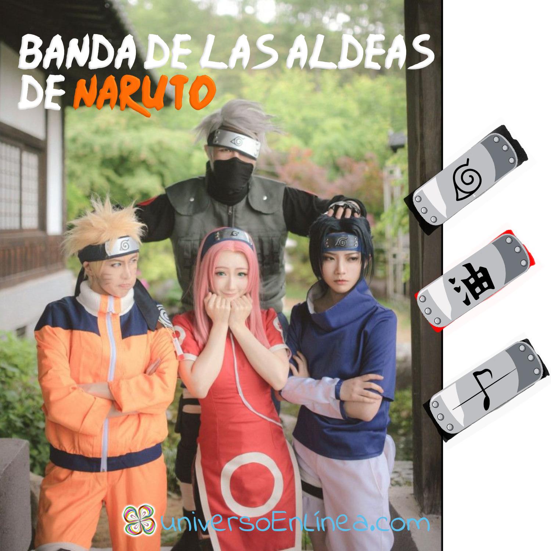Banda De Las Aldeas De Naruto 1pz