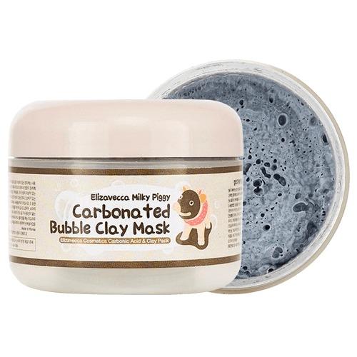 Mascarilla Coreana Elizavecca Milky Piggy Carbonated Bubble Clay Mask