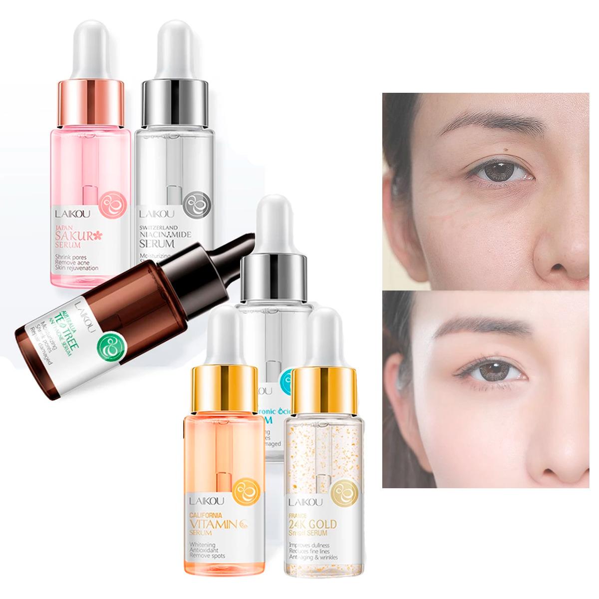 Paquete 3 Serum Laikou Tratamiento Facial Hidratante Elegir