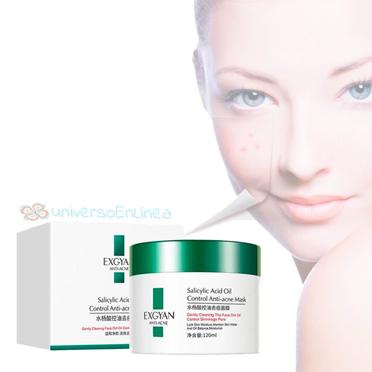 Crema Exgyan Anti-acne Para Cuidado Facial Y Exfoliante