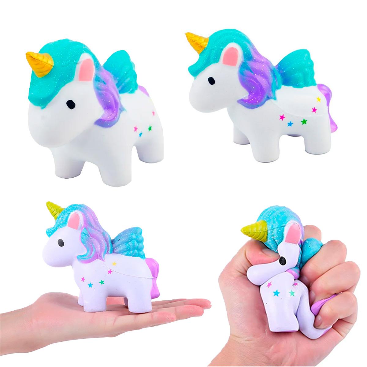 Squishy Unicornio Juguete Kawaii Almohada Anti Estrés 1Pz