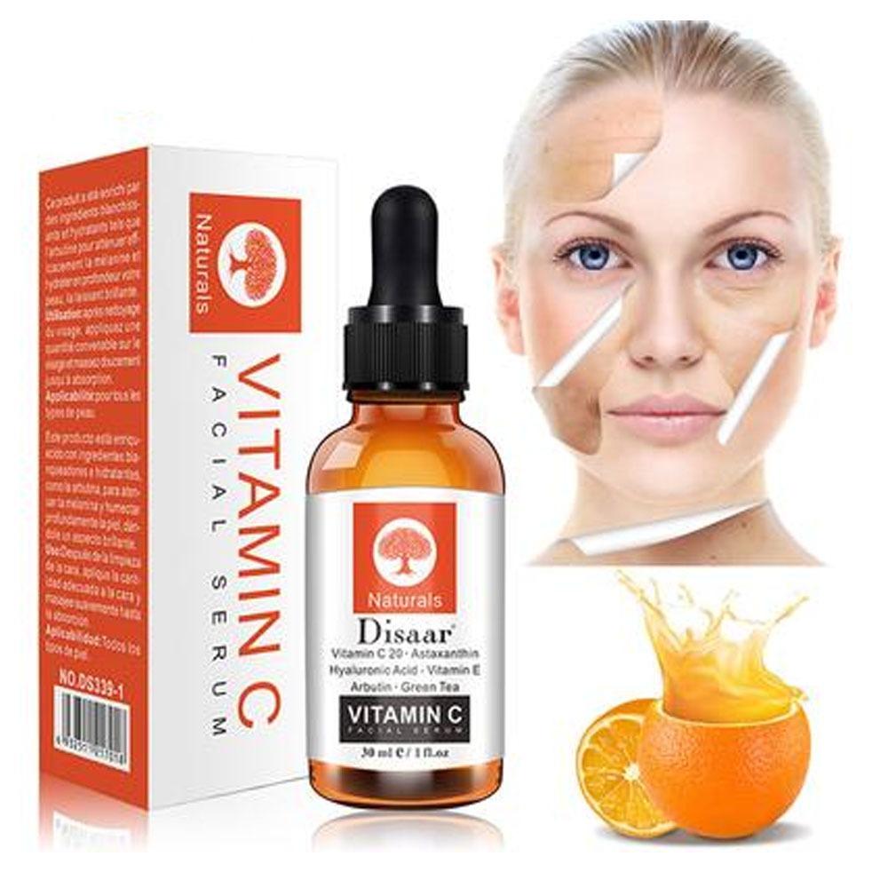 Serum Facial Vitamina C Anti Manchas Ácido Hialurónico