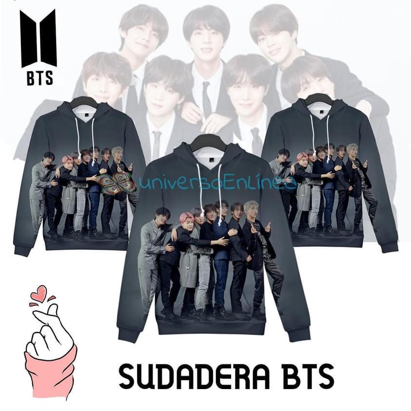 Sudadera Juvenil Banda Surcoreana BTS