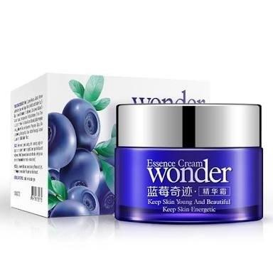 Crema Facial Blueberry Bioaqua Anti-arrugas Hidratante