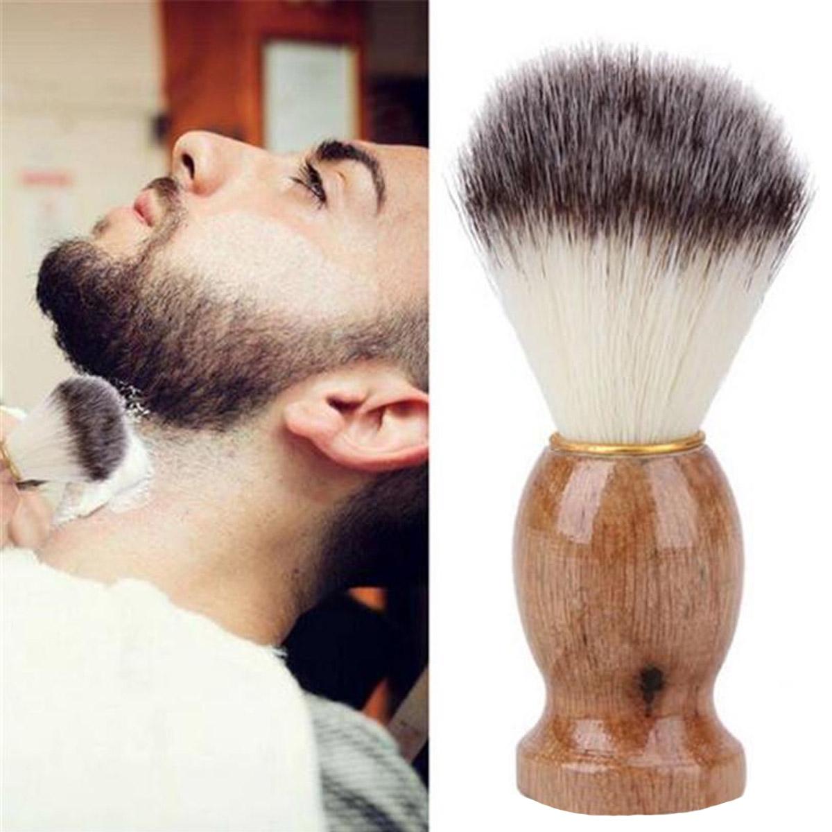 Brocha Facial De Afeitar Barba Peluquería Barbería 1 Pieza