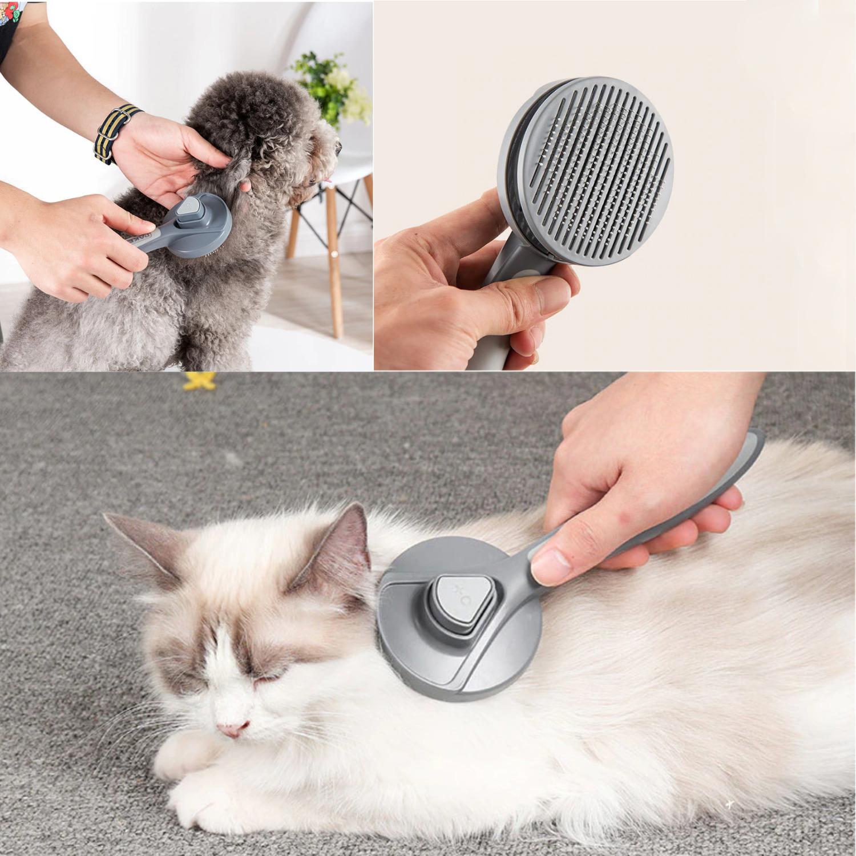 Cepillo De Limpieza Para Gato Perro Removedor De Pelo