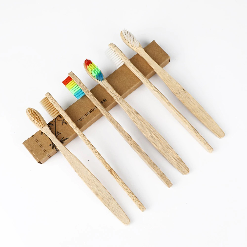 Cepillo Dientes Suave Bambú Biodegradable Ecológico 1pz