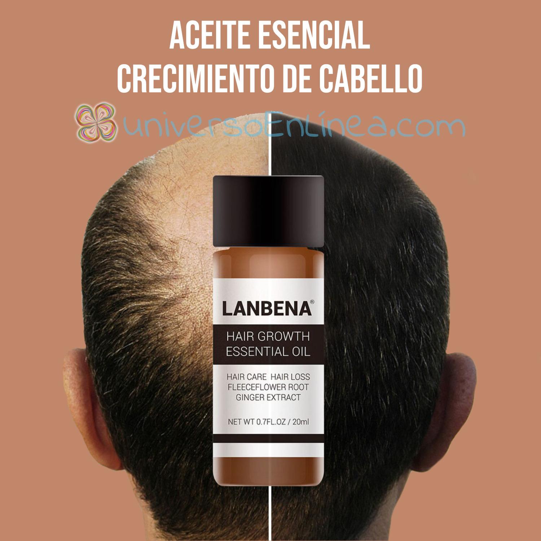 Aceite Esencial Para El Crecimiento Del Cabello Lanbena 20ml