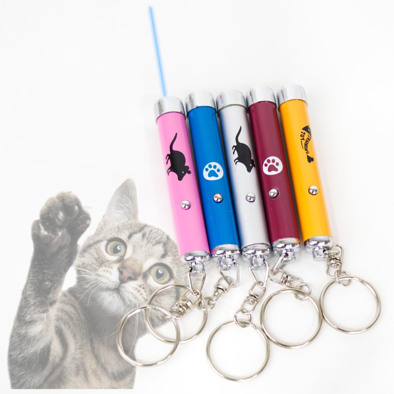 Juguete Laser Led Para Gato Diferentes Diseños Divertidos
