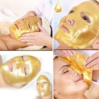 Mascarilla De Oro Colágeno Hidratante Humectante