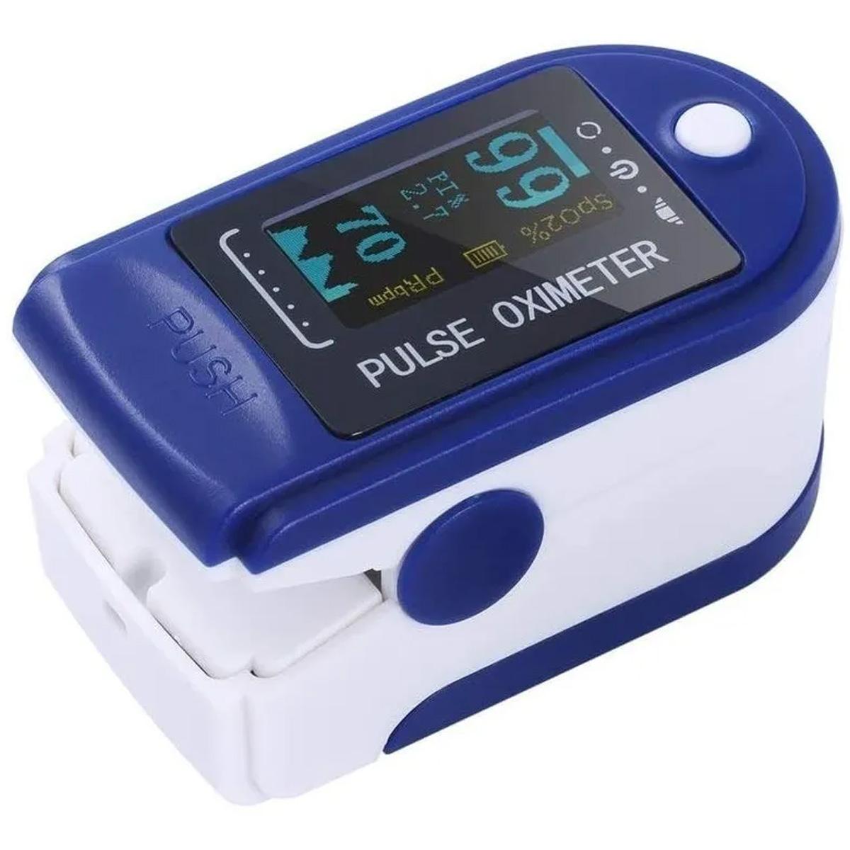 Oximetro Para Pulso De Dedo Uso Hospitalario Hogar Deportivo Portátil