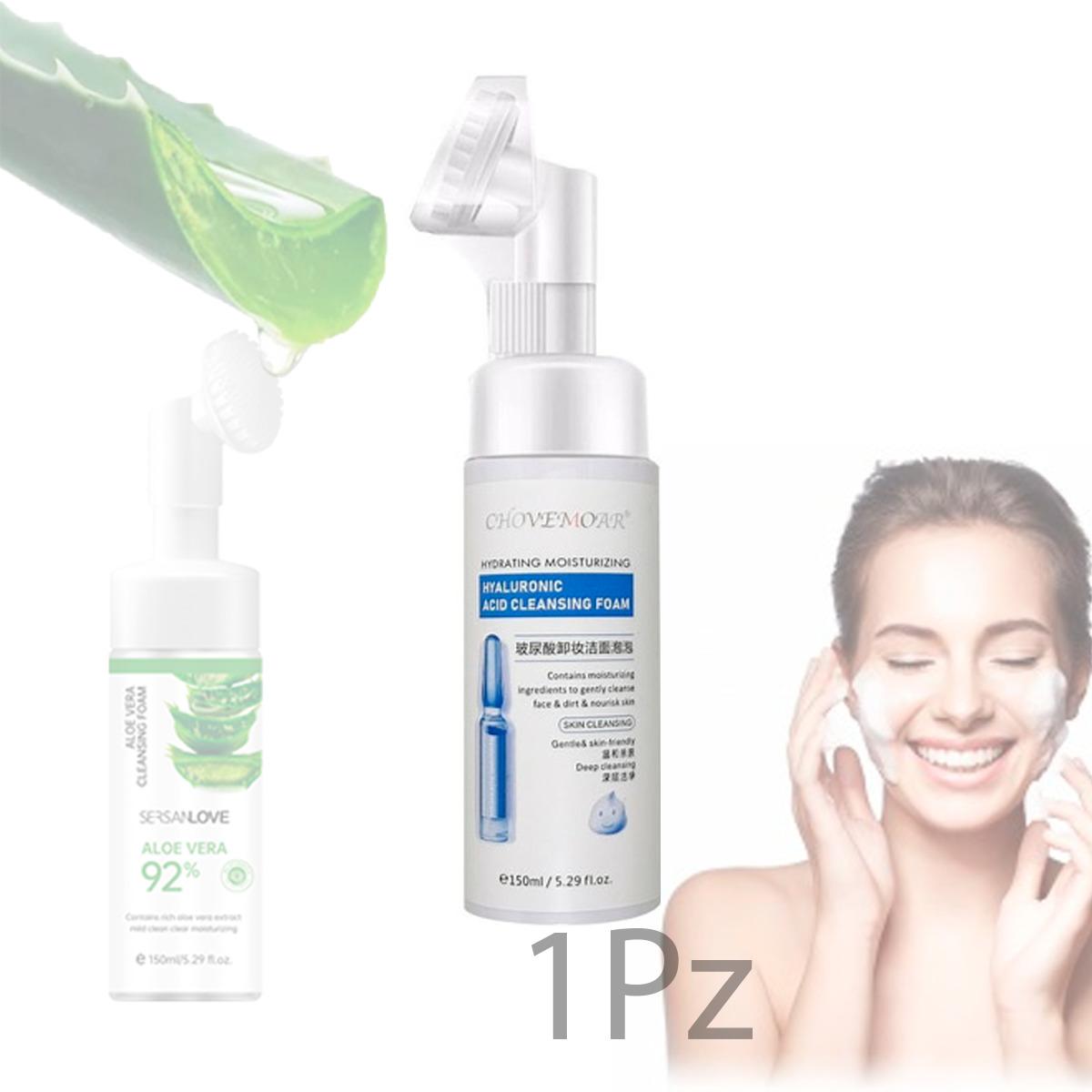 Limpiador Facial Hidrata Aclara Espuma Limpia Poros
