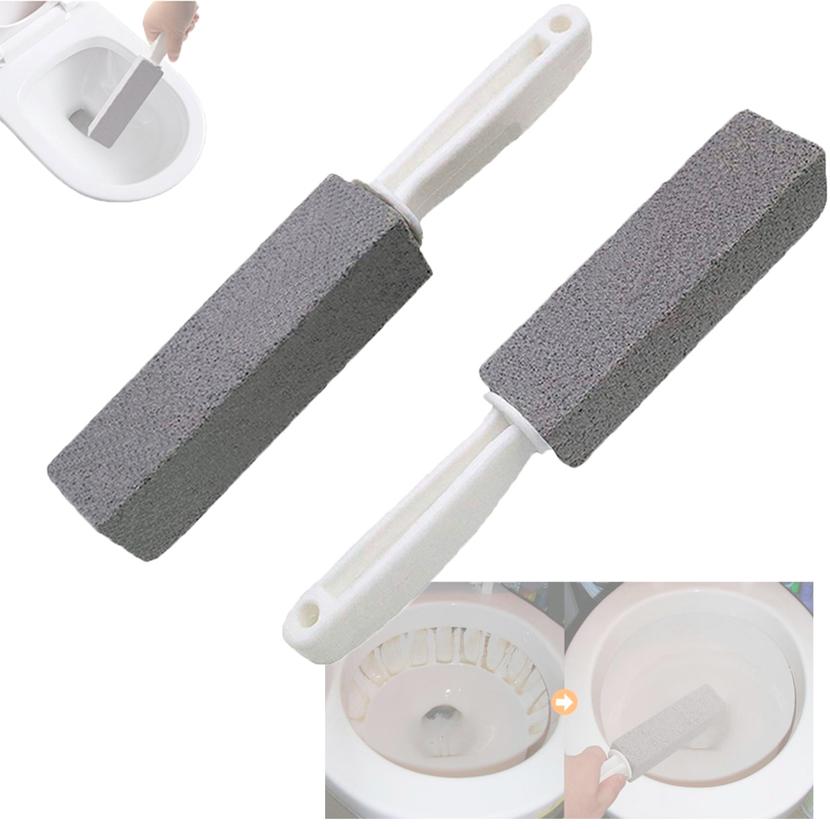 Pumice Stone Toilet Cleaner Barra Limpiadora De Sarro