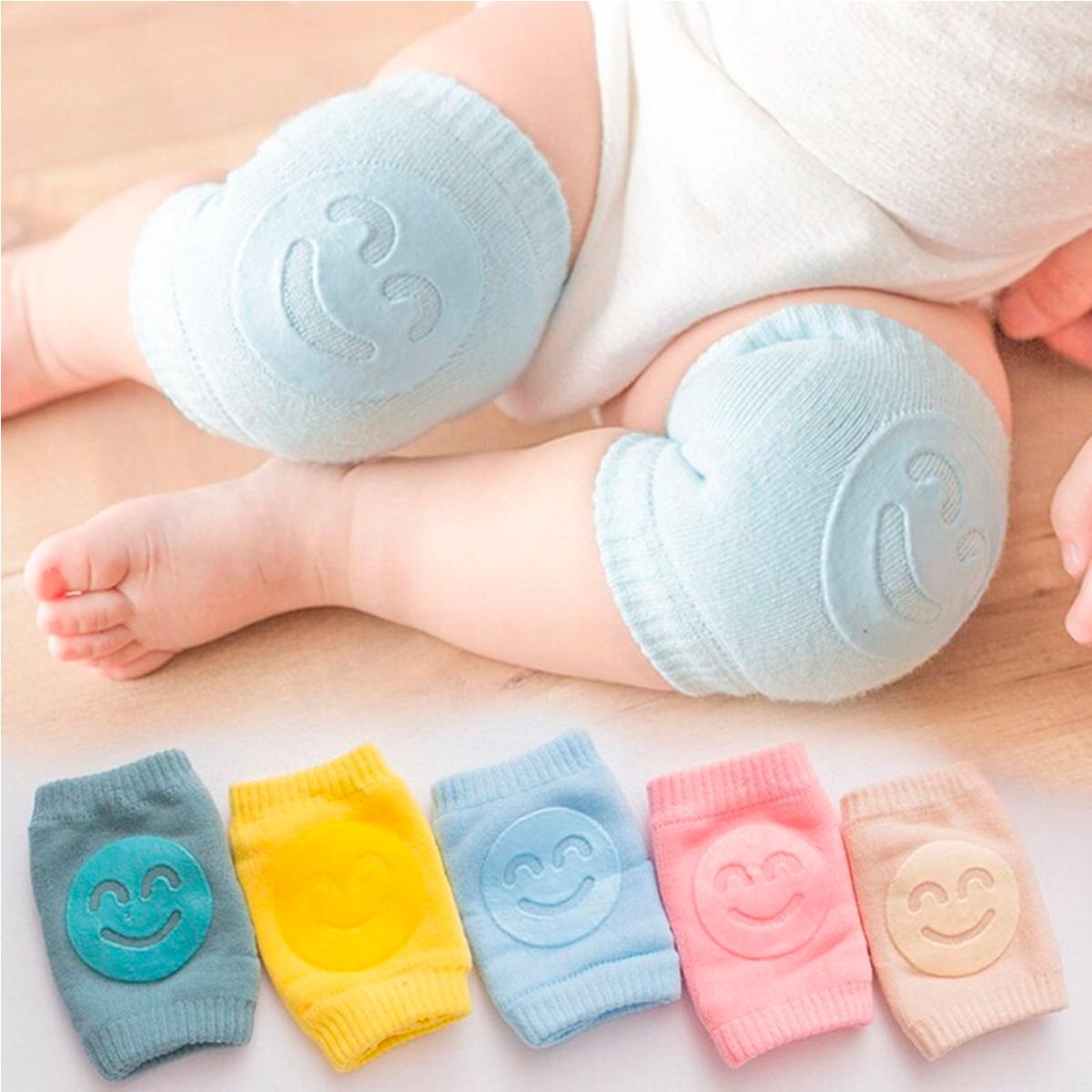 Rodillera Para Bebé De Algodón Antideslizante 1 Par