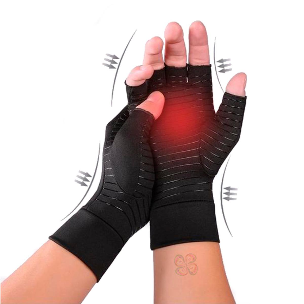 Guantes De Cobre Tela Para Aliviar El Dolor De Artritis