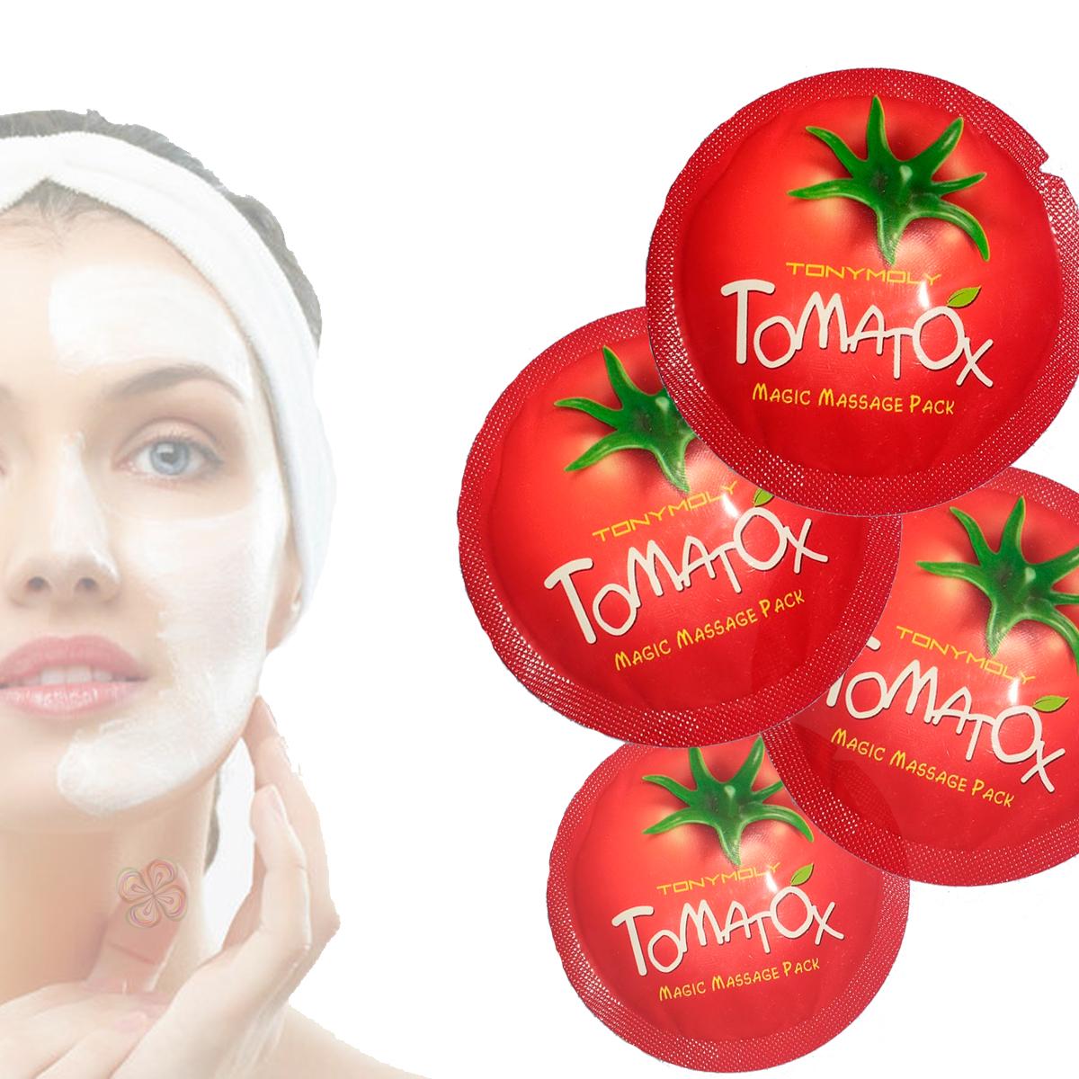 Tomatox Tony Moly Crema Aclaradora 100% Original. 10 Pzas.