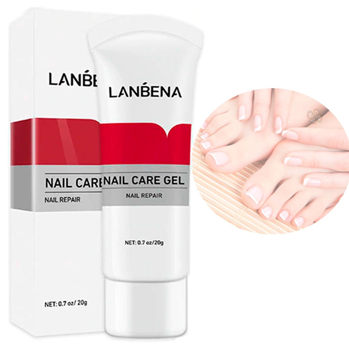 Lanbena Nail Care Gel Tratamiento Elimina Hongo