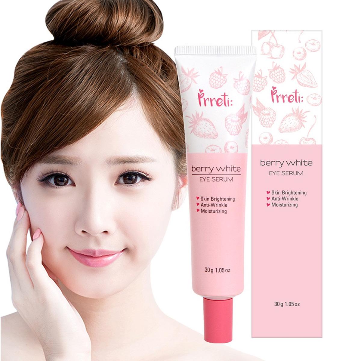 Crema Coreana Ojos Prreti Berry White Frutos Rojos Anti-envejecimiento