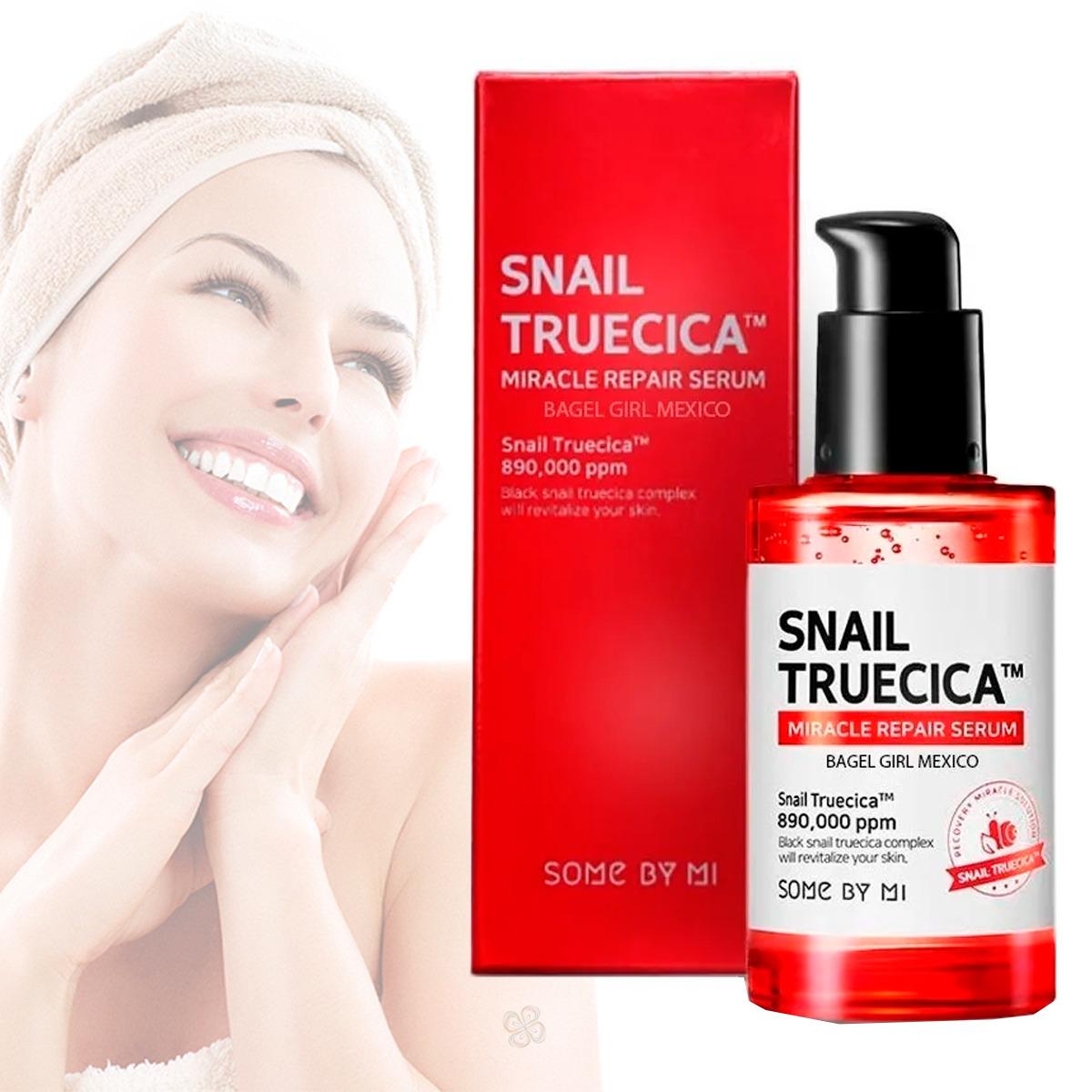 Serum Snail Truecica Miracle Repair Coreano