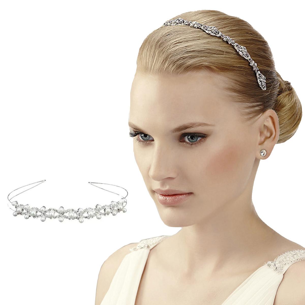 Diadema Plata De Diamantes Para Dama