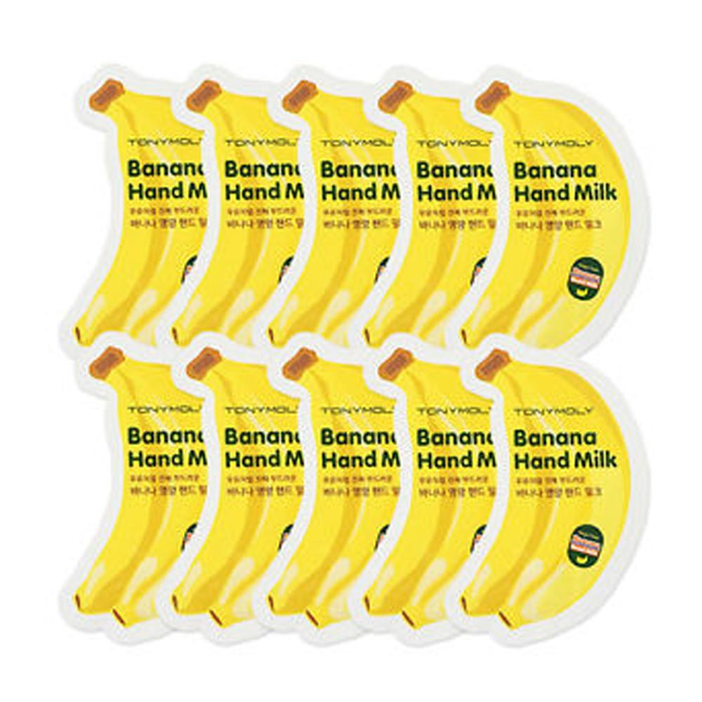 Banana Hand Milk Crema Para Manos 10 Sobres