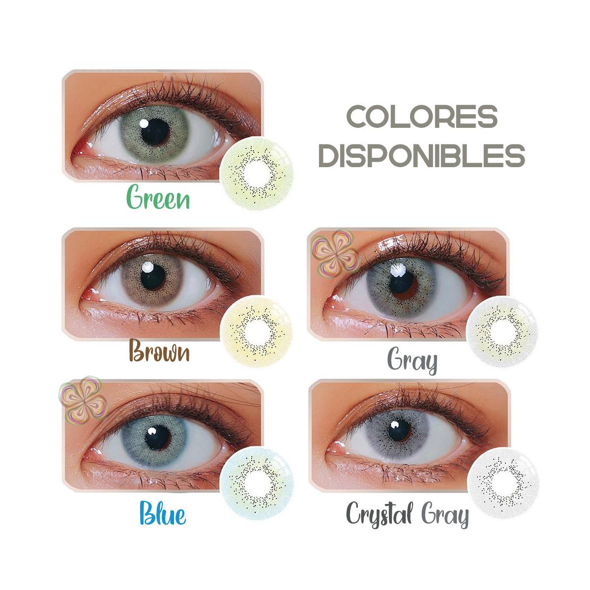 Pupilentes Vetas De Lujo Colores Naturales 14.5mm + Estuche